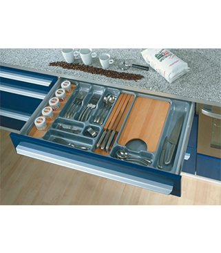 Rak sendok laci vitco agec 80 aksesoris kitchenset for Laci kitchen set