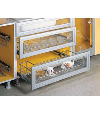 Jual rak gelas tarik bawah sink murah dan berkualitas for Jual aksesoris kitchen set