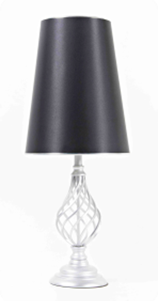Lampu Meja Type SILVER SPIRAL