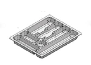 Rak Sendok Laci Putih Type AGEC 45 WH