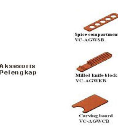 Rak Sendol Laci Type AGEC