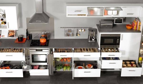 Tips menata dapur agar lebih rapih dan tertata toko for Peralatan kitchen set