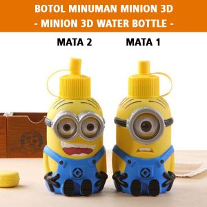 Minion 3D Water Bottle