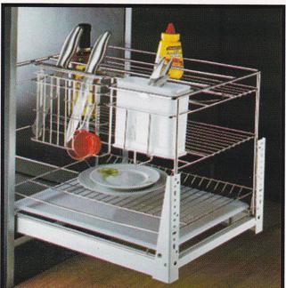 Rak piring tarik winston ww025f aksesoris kitchenset for Kitchen set rak piring