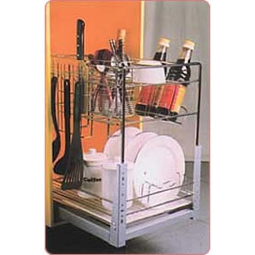 Rak Sendok Kitchen Set: Rak Sendok Dan Botol XC 29025