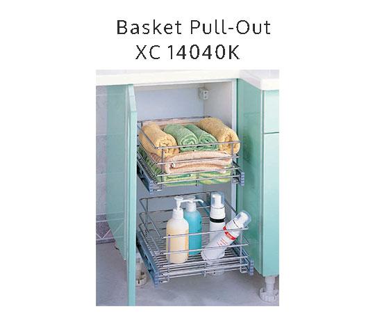 Rak Sendok Kitchen Set: Rak Peralatan Mandi Tarik XC 14040 K