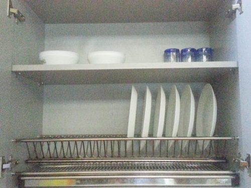 aksesoris dapur rak piring gantung