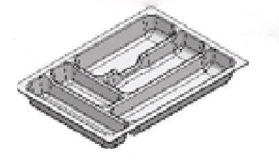 Rak Sendok Laci Putih Type AGEC 40 WH