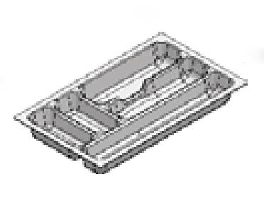 Rak Sendok Laci Putih Type Agec 35 WH