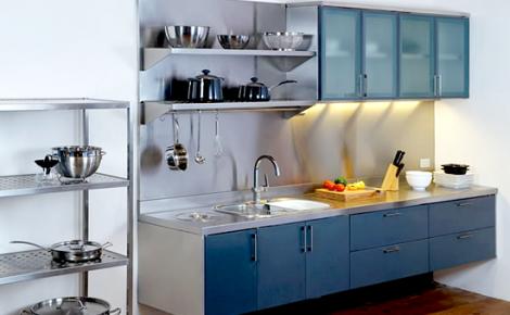 model dapur minimalis dengan stainless