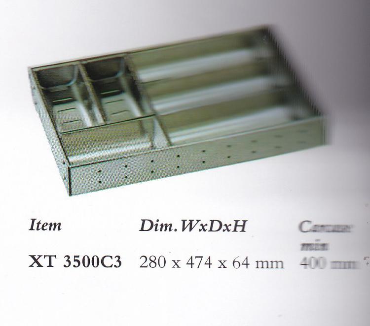 Rak Sendok Kitchen Set: Rak Sendok Stainless XT 3500 C3