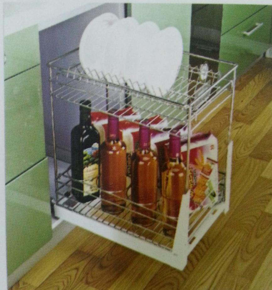 Rak Piring Kitchen Set: Rak Piring Botol 2 Susun TMB 23056