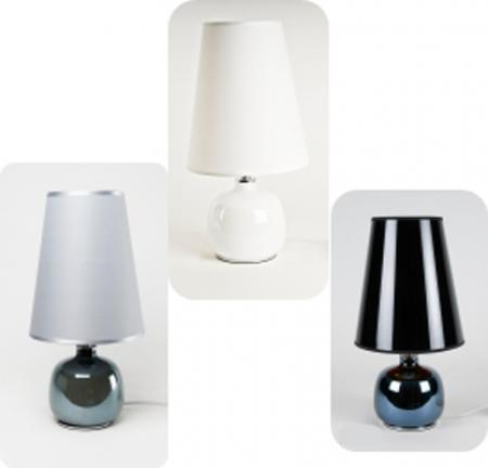 Lampu Meja Type T952 c/w 25 watt bulb Colour Grey