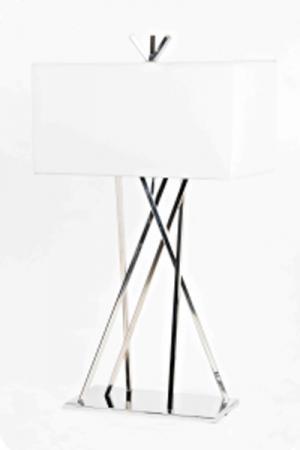 Lampu Meja Type CHROME c/w 25 watt bulb
